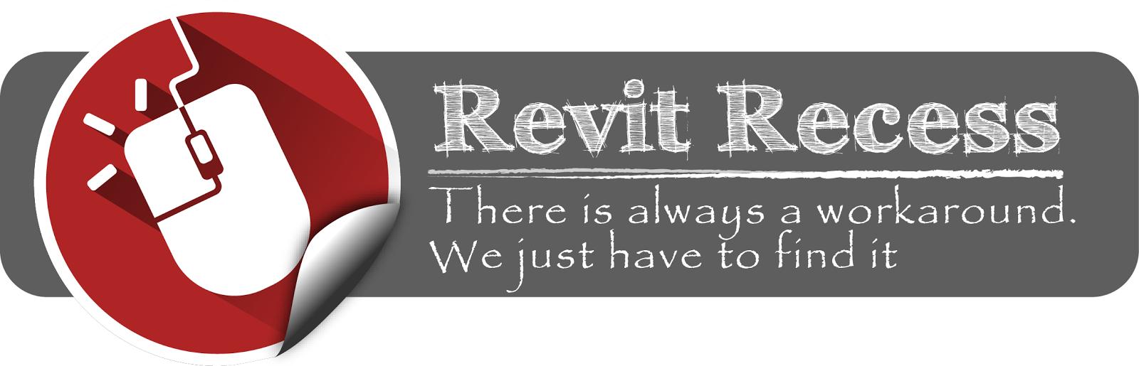 Revit Recess