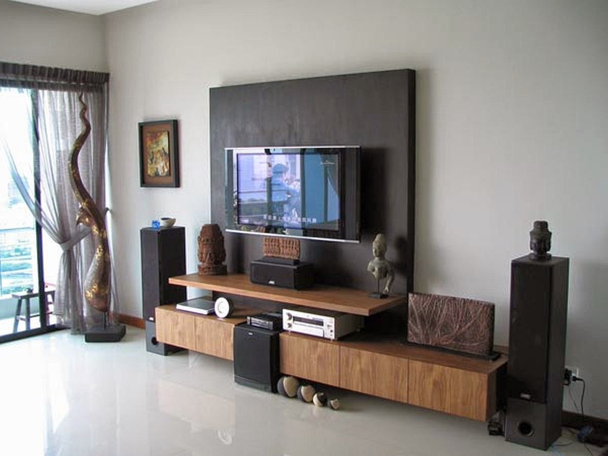 Small living room with tv design ideas kuovi - What size tv to get for living room ...