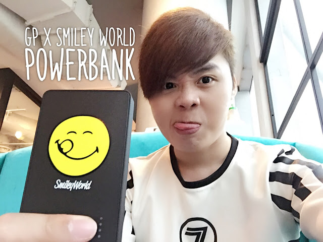 GP x Smiley Power Bank - Evilbean Singapore Blogger