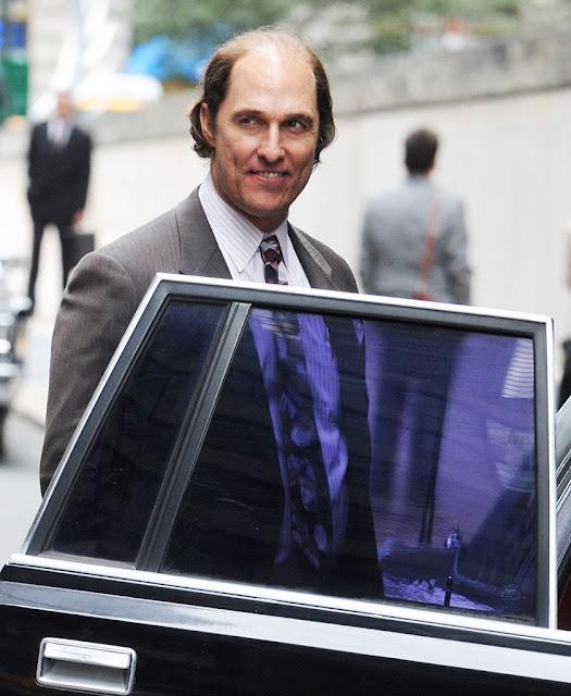 Increíble el cambio de Matthew McConaughey en el set de 'Gold'