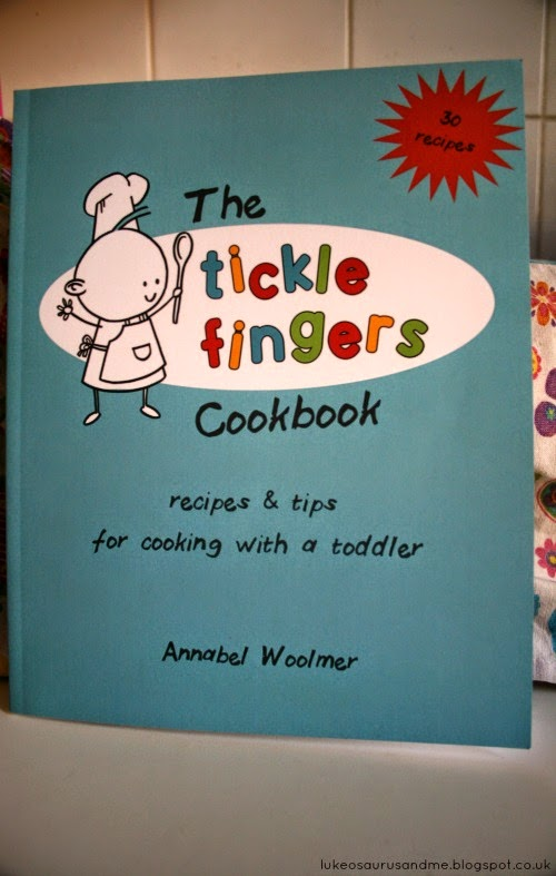 The Tickle Fingers Cookbook // Annabel Woolmer // Fight Against The Fuss!! // Fighting against my son's fussy eating using this wonderful cookbook. // www.lukeosaurusandme.blogspot.co.uk