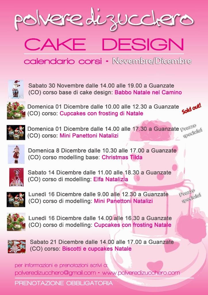 Corsi Di Cake Design Torino E Provincia : Corsi di cake design di Natale: il nuovo calendario di ...