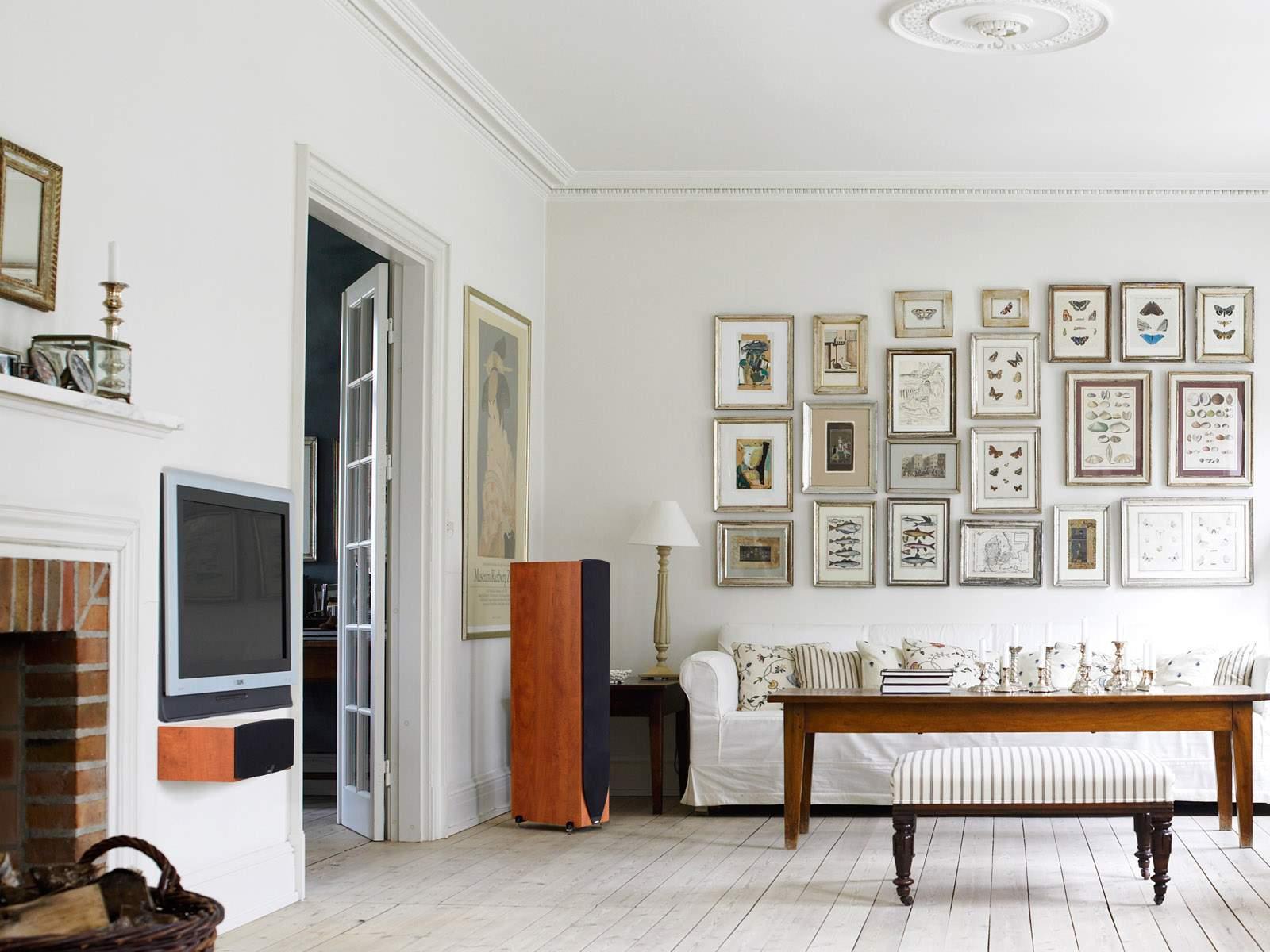 De 50 fotos de salas decoradas modernas peque as for Living estilo romantico