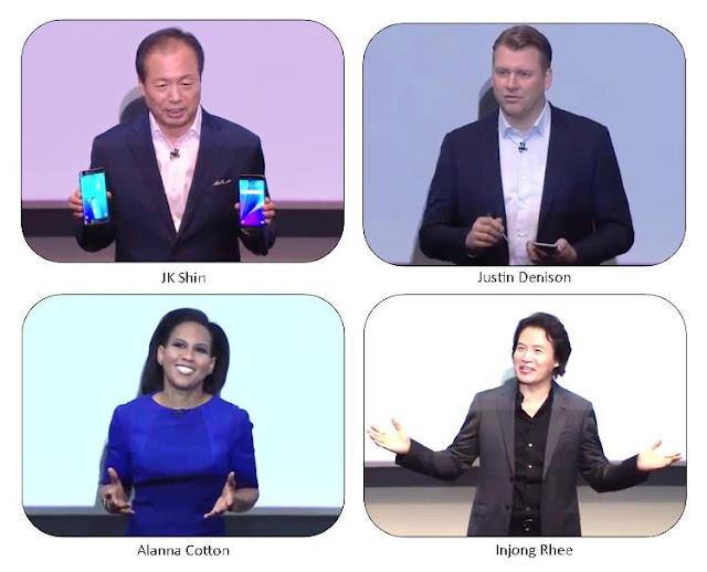 Tim manajemen Samsung Galaxy Note 5