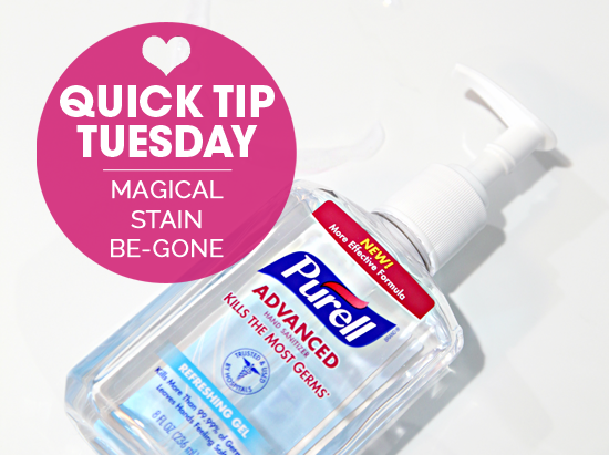Iheart organizing quick tip tuesday magical stain be gone for I heart organizing