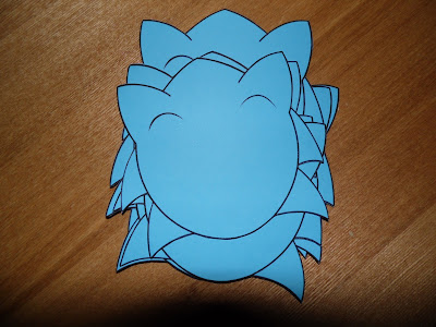 sonic the hedgehog homemade party invitations