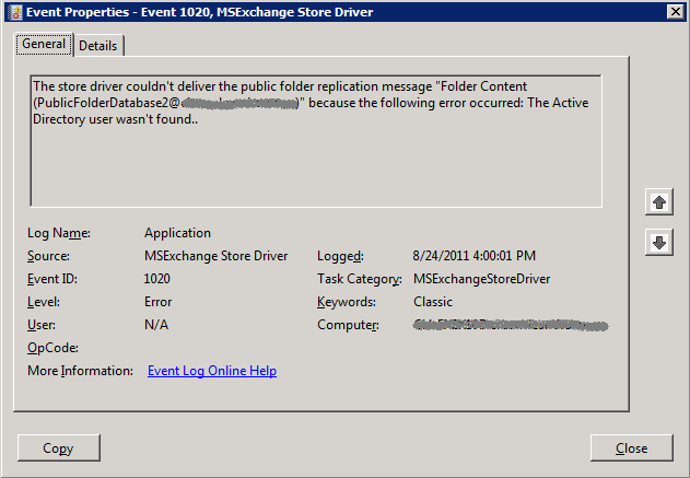 Exchange 2007 Public Folders Wont Replicate To 2010