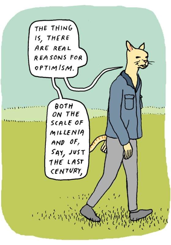 On Optimism by Anders Nilsen.