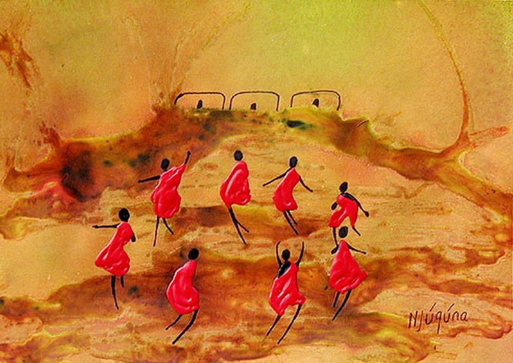 Cuadros modernos arte y pinturas africanas cuadros - Decorarte pinturas ...
