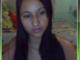 Larissa Novinha Fazendo Strip no MSN