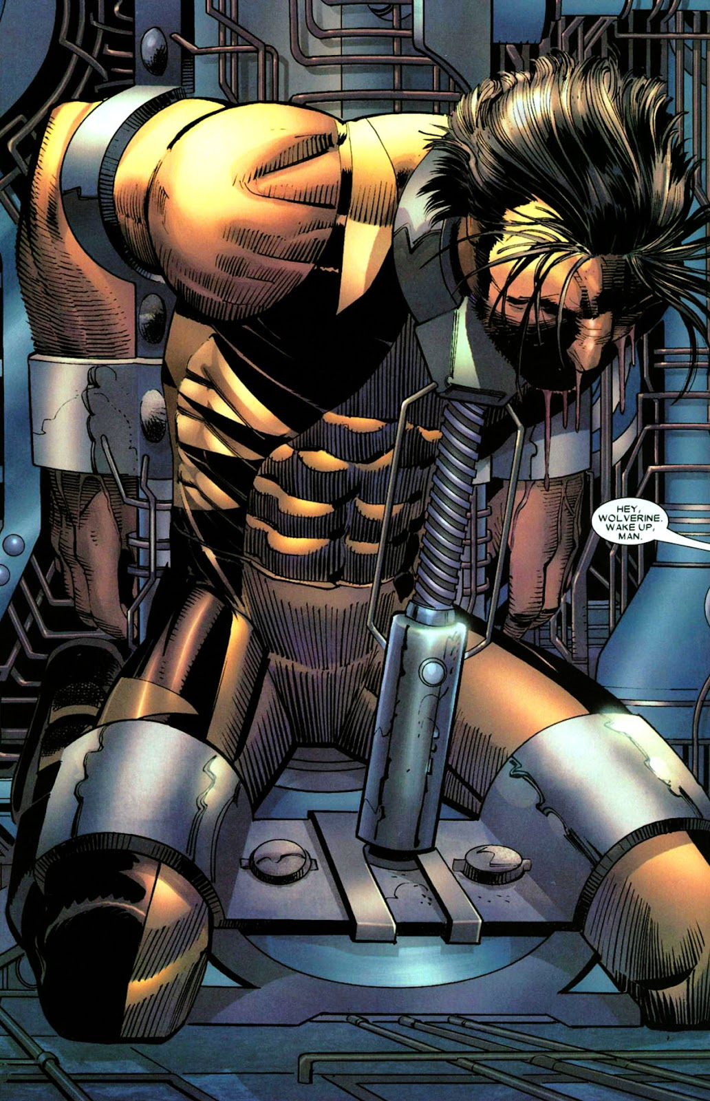 Read online Wolverine (2003) comic -  Issue #28 - 11
