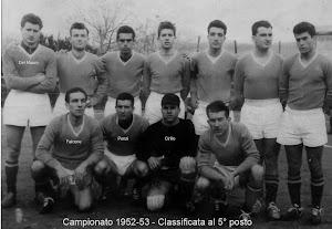 LA PAGANESE DEL CAMPIONATO 1952-1953