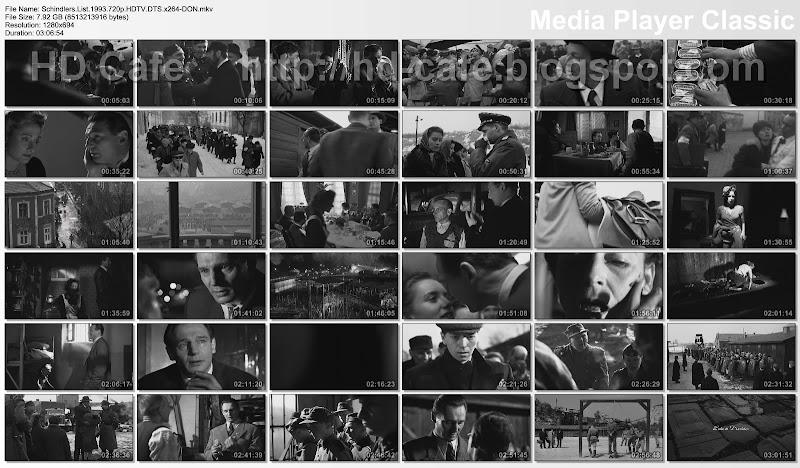 Schindler's List 1993 video thumbnails