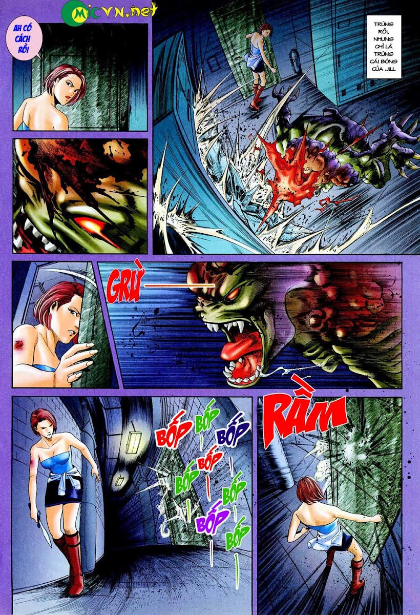 Resident Evil 3 chap 4 - Trang 27