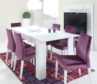 2012+mor+sandalyeli+yemek+odas%25C4%25B1+tak%25C4%25B1m%25C4%25B1 İstikbal Mobilya Yeni Sezon Yemek Odası Takımları