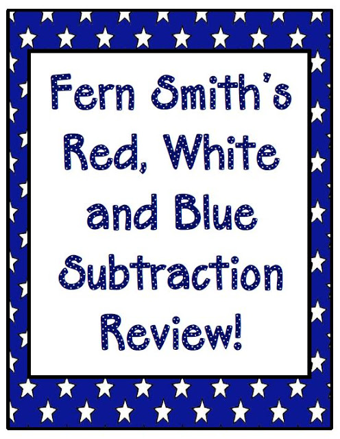 Classroom Review Ideas : Subtraction review fern smith s classroom ideas