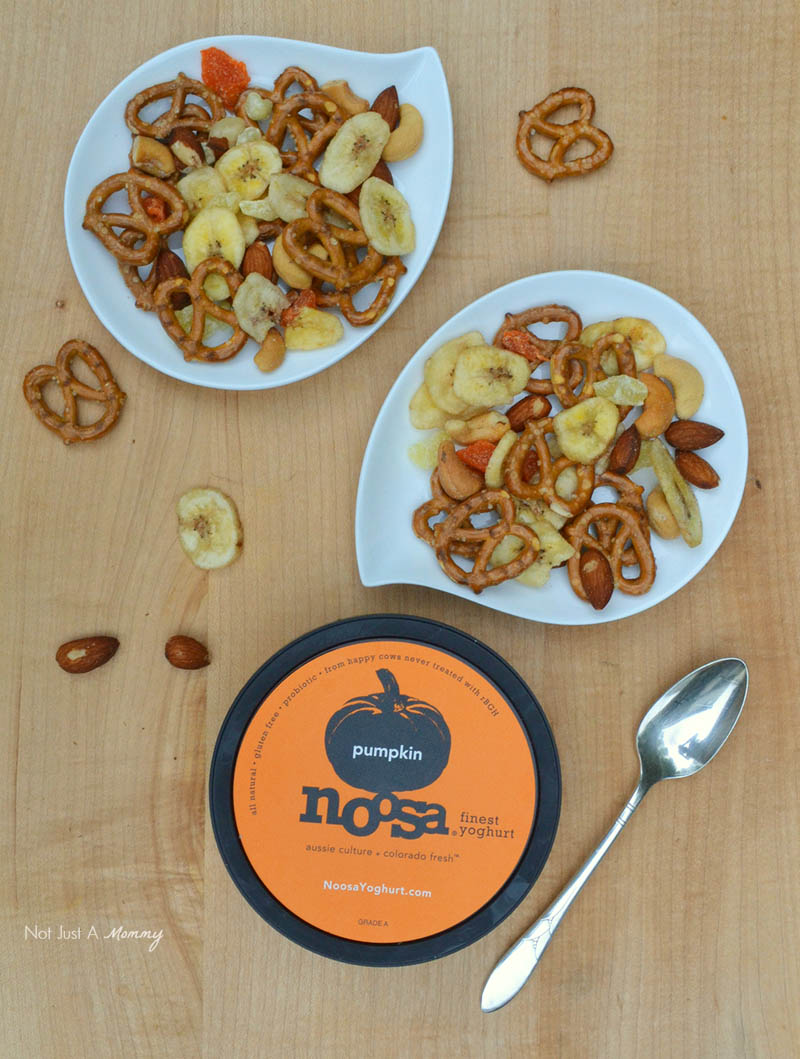 Pumpkin noosa yoghurt  for snack