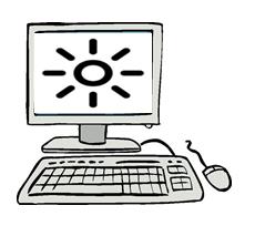 Cara Hindari Sakit Mata dari Layar Monitor Komputer