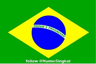 Gambar bendera Brasil format JPEG
