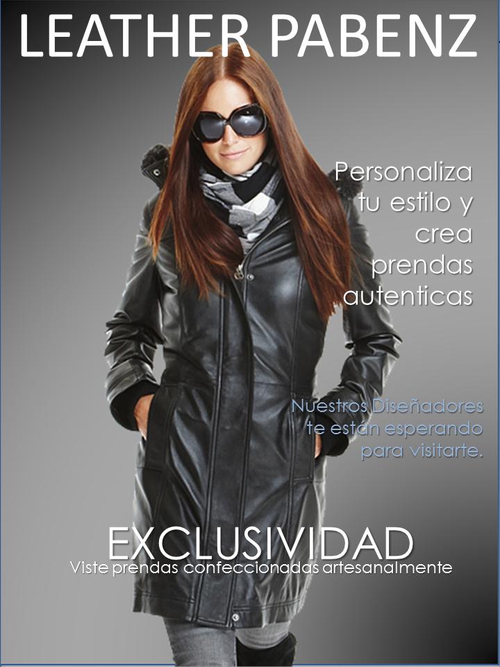 Catálogo Chaquetas de Cuero Mujeres