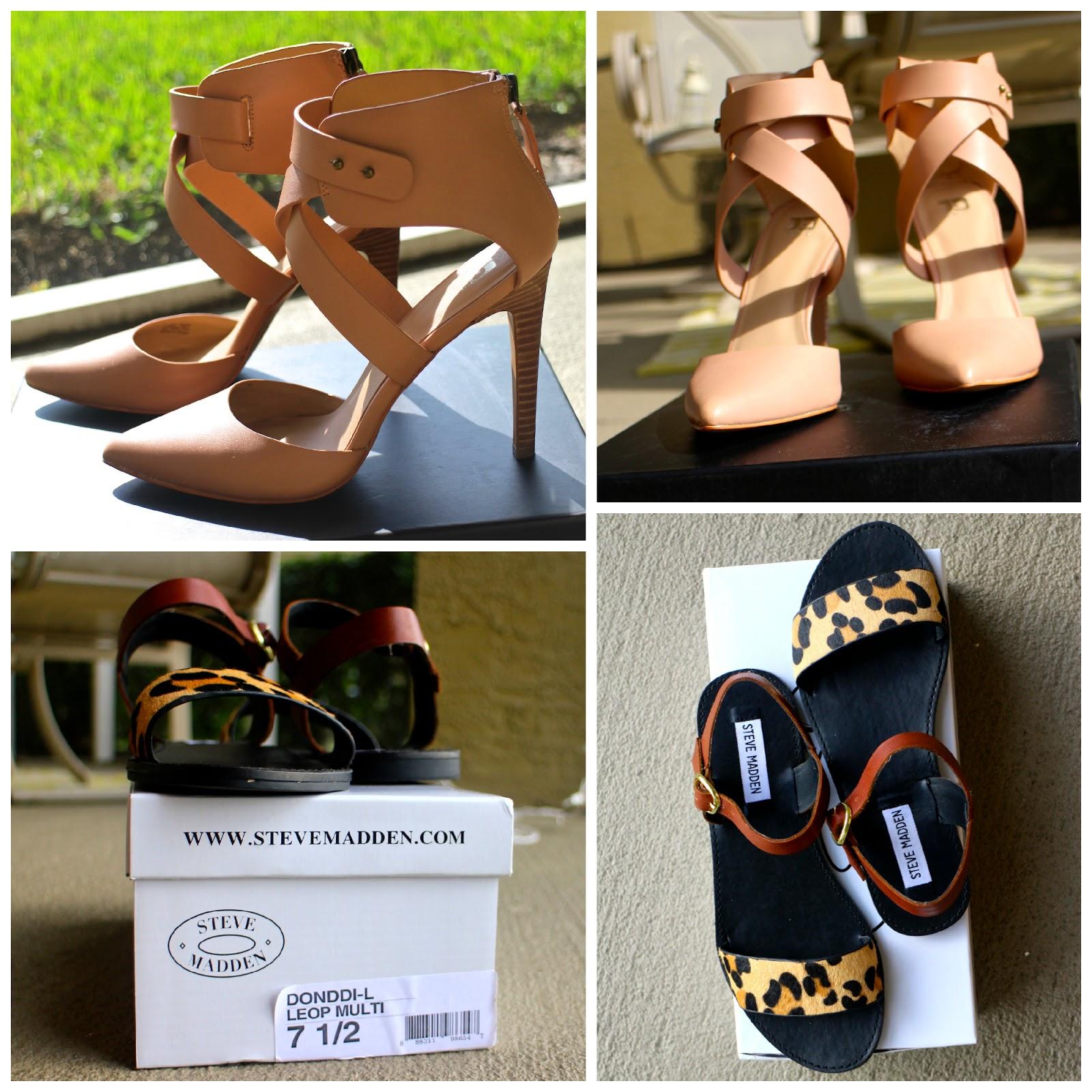 Summer Sandals Nude Heels