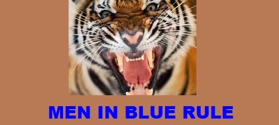 Men In Blue Rule, Roars The Tiger