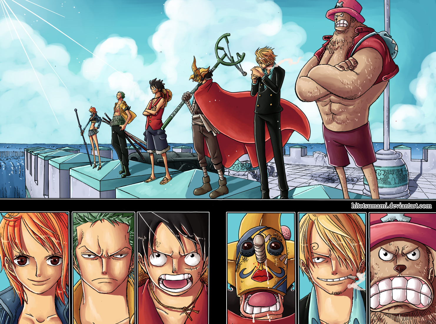 One Piece Chapter 700: Nước cờ 020