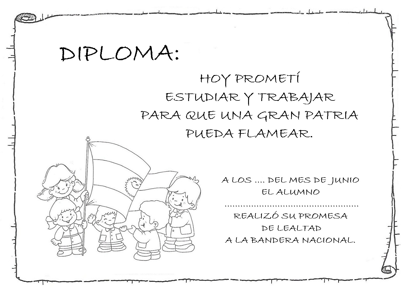 de honor diploma de honor para imprimir los cuales puedes usarlo ...