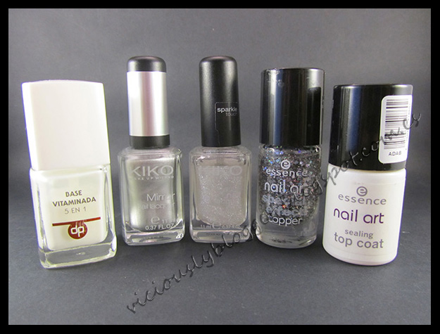 Viciouslyblogger reto 31 manicuras 17 glitter - Pintaunas kiko efecto espejo ...