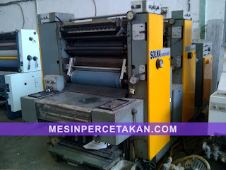 Solna 264 offset | 2 Color printing machine