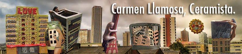 Carmen Llamosa, Ceramista
