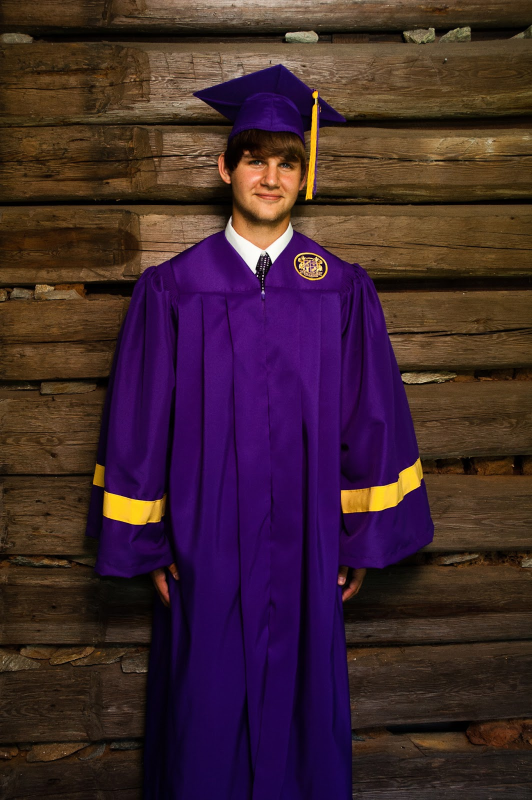 At PEaCe Photography: Ian\'s Cap and Gown Portraits