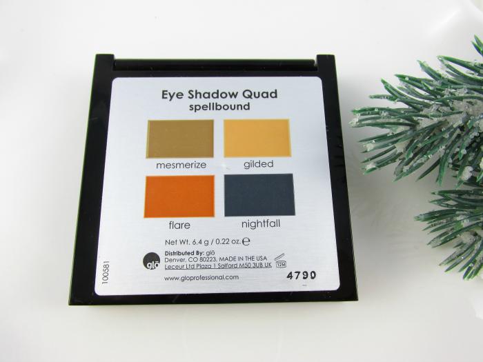 Nuancen: glo minerals Eye Shadow Quad Spellbound - mesmerize, gilded, flare, nightfall