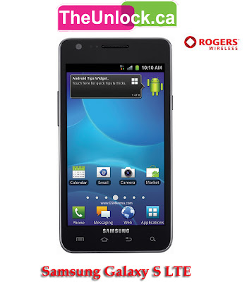 Theunlock: Rogers Samsung Galaxy S 2 I727r LTE Unlocking at Theunlock