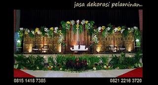 Jasa-Dekorasi-Pernikahan-Di-Padepokan-Pencak-Silat