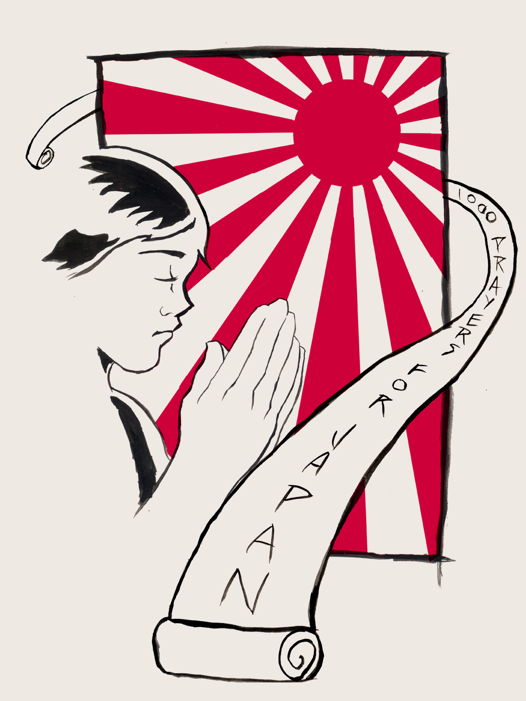 Design shirt japan - New T Shirt Design For Love And Water Designs Special Charity Contest In The Name Of 1000 Prayers For Japan An Organization Raising Funds To Aid Japan In