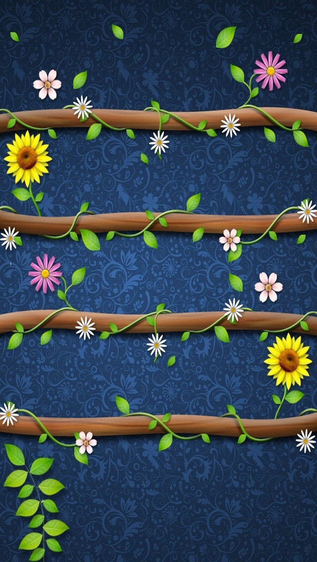 Free Download Wood Shelf HD iPhone 5 Wallpapers