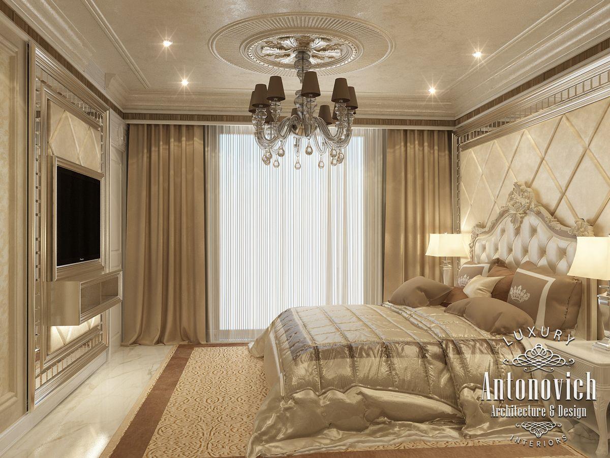 LUXURY ANTONOVICH DESIGN UAE Master bedroom from