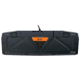 Logitech G710+ keyboard rear