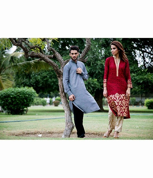 Deepak Perwani Mens Wear Eid Collection 2014