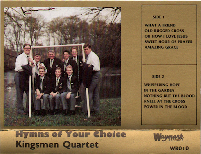 The Kingsmen Quartet-Hymns Of Your Choice-