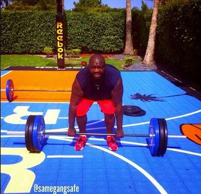 Checkout Rick Ross lifting weights,loses over 100 pounds1