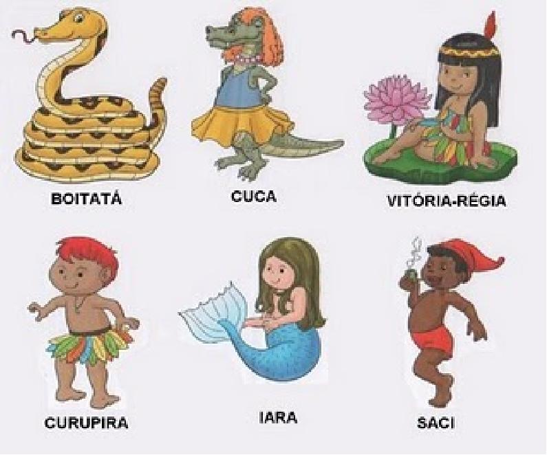 Baú da Web Folclore Brasileiro imagens