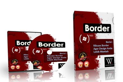 Paket Desain Border + Bonus Vector