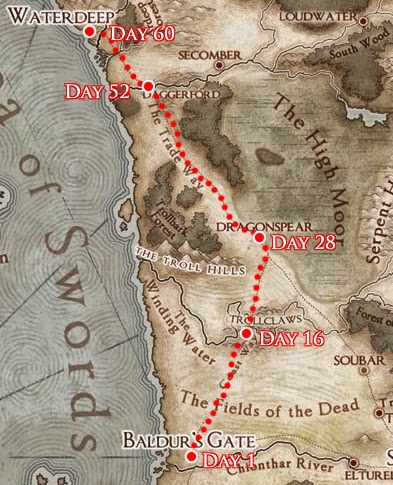 The Schedule The Trip Is 750 Miles Long 15 Miles Per Day 60 Days Total The Caravan Travels For 8 Hours A Day And Camps At Night