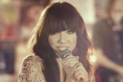 Carly Rae Jepsen with cute blunt bangs