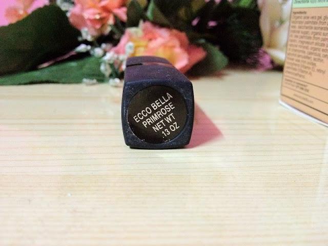 Eccobella's FlowerColor Lipstick Primrose#5