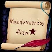 Mandamientos Ana y Mia