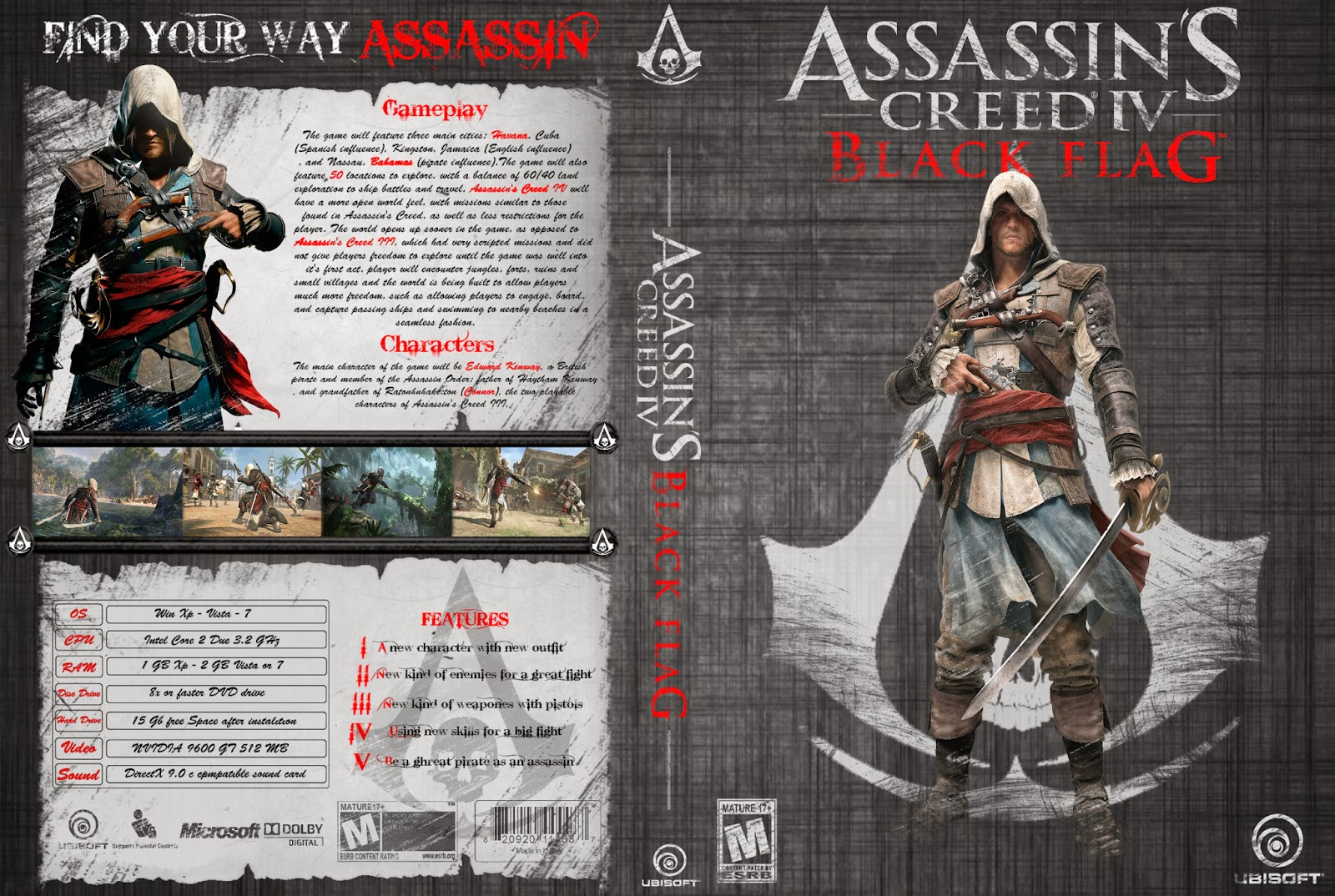imagens Assassins Creed IV: Black Flag