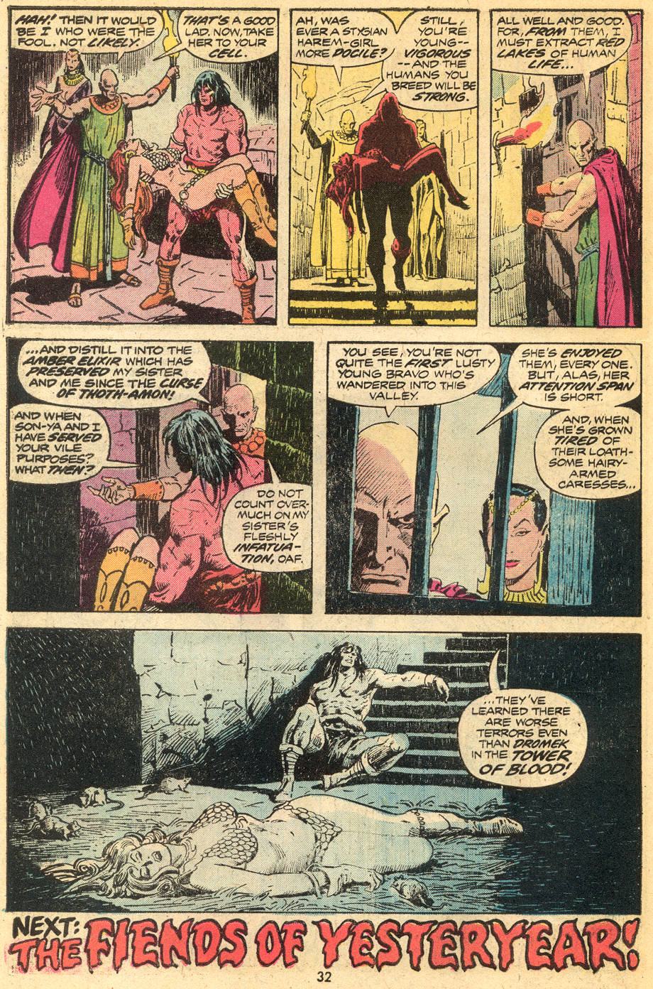 Conan the Barbarian (1970) Issue #43 #55 - English 19